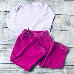 Nannette Girls 12m pant Primary Bodysuit